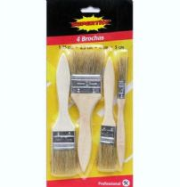 HRV-3111 Set de 4 brochas de pintar SUPERTite